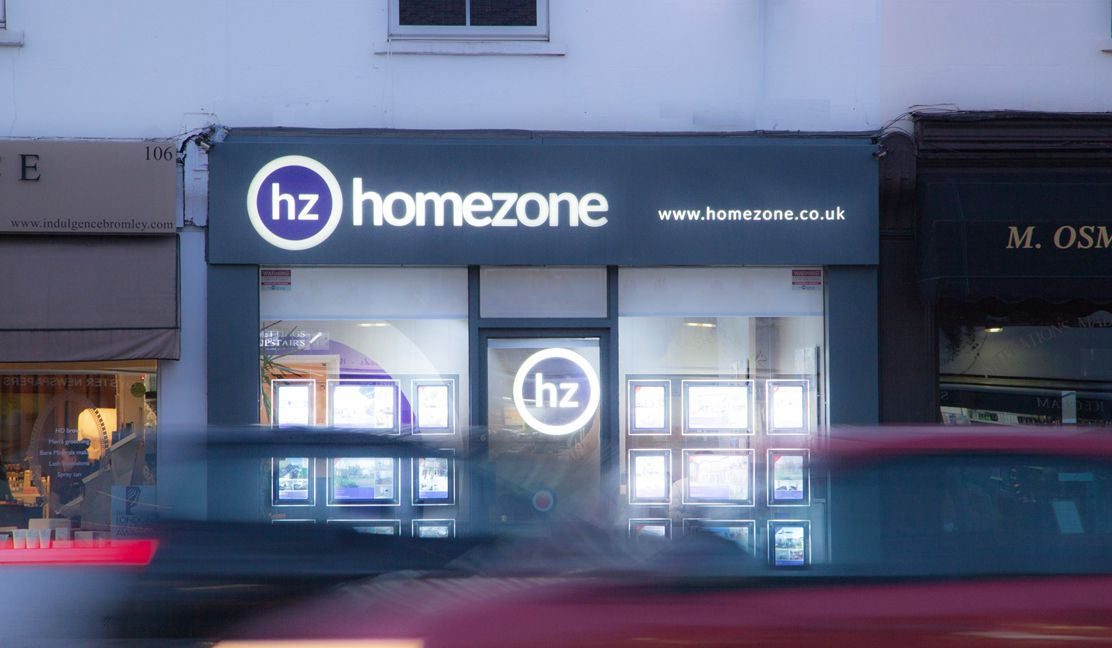 Homezone shopfront