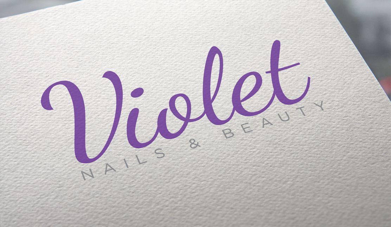Violet Nails logo
