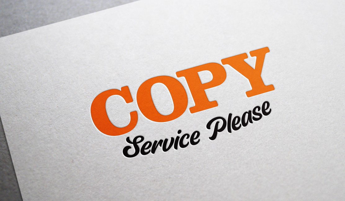 Copy Service Please Logo